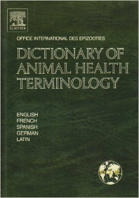 Cover image for Dictionary of Animal Health Terminology