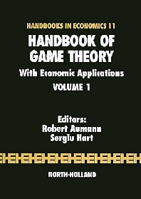 Handbook of Game Theory with Economic Applications, 1st Edition,R.J. Aumann,S. Hart,ISBN9780444880987