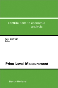 Price Level Measurement - 1st Edition - ISBN: 9780444881083, 9781483295848