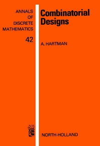 Cover image for Combinatorial Designs