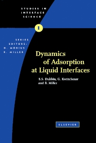 Cover image for Dynamics of Adsorption at Liquid Interfaces
