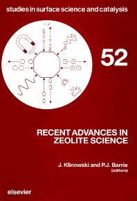 Recent Advances in Zeolite Science - 1st Edition - ISBN: 9780444881298, 9780080887456