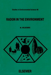Cover image for Radon in the Environment