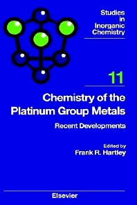 Cover image for Chemistry of the Platinum Group Metals