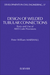 Design of Welded Tubular Connections - 1st Edition - ISBN: 9780444882011, 9781483290904