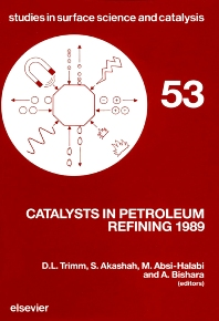 Cover image for Catalysts in Petroleum Refining 1989