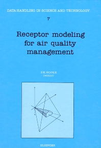 Receptor Modeling for Air Quality Management - 1st Edition - ISBN: 9780444882189, 9780080868349