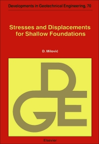 Cover image for Stresses and Displacements for Shallow Foundations