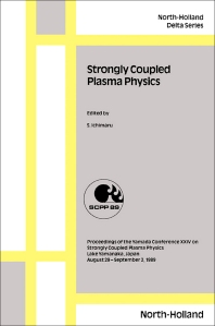 Cover image for Strongly Coupled Plasma Physics