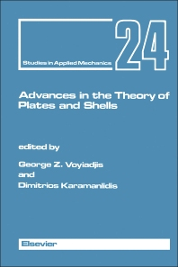 Advances in the Theory of Plates and Shells - 1st Edition - ISBN: 9780444883667, 9781483290966