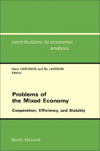 Cover image for Problems of the Mixed Economy