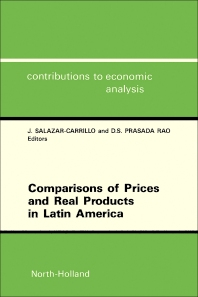 Cover image for Comparisons of Prices and Real Products in Latin America