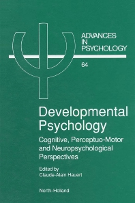 Cover image for Developmental Psychology