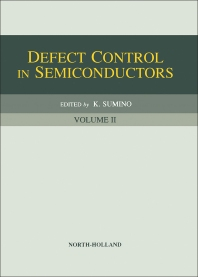 Cover image for Defect Control in Semiconductors