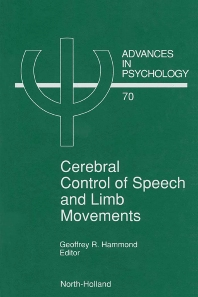 Cover image for Cerebral Control of Speech and Limb Movements