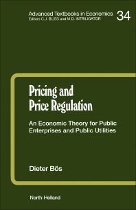 Pricing and Price Regulation - 1st Edition - ISBN: 9780444884787, 9780080514703