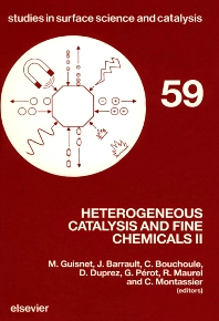 Heterogeneous Catalysis and Fine Chemicals II - 1st Edition - ISBN: 9780444885142, 9780080887098