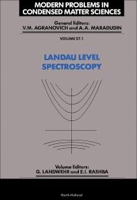 Cover image for Landau Level Spectroscopy