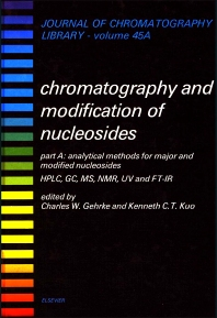 Cover image for Analytical Methods for Major and Modified Nucleosides - HPLC, GC, MS, NMR, UV and FT-IR