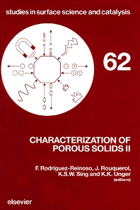 Cover image for Characterization of Porous Solids II