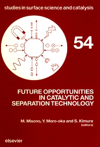Cover image for Future Opportunities in Catalytic and Separation Technology
