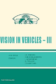 Cover image for Vision in Vehicles III