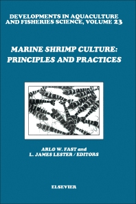 Cover image for Marine Shrimp Culture