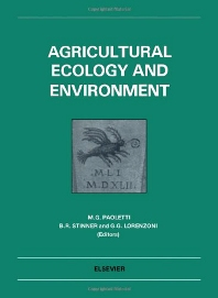 Cover image for Agricultural Ecology and Environment