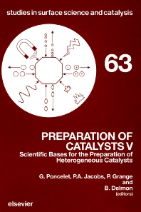 Preparation of Catalysts V - 1st Edition - ISBN: 9780444886163, 9780080879192