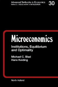 Microeconomics - 1st Edition - ISBN: 9780444886446, 9781483297644
