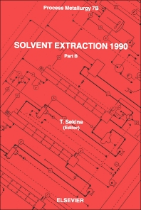 Cover image for Solvent Extraction 1990