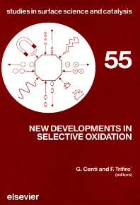 New Developments in Selective Oxidation - 1st Edition - ISBN: 9780444886941, 9780080879185