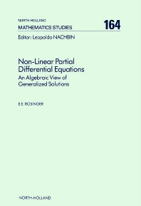 Cover image for Non-Linear Partial Differential Equations
