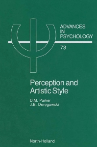 Perception and Artistic Style - 1st Edition - ISBN: 9780444887023, 9780080867274