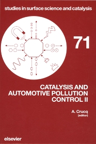 Catalysis and Automotive Pollution Control II - 1st Edition - ISBN: 9780444887870, 9780080887494
