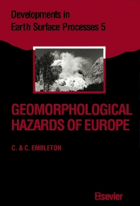 Cover image for Geomorphological Hazards of Europe