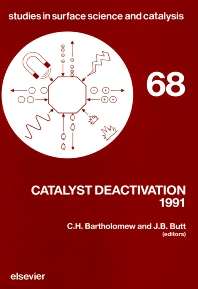Cover image for Catalyst Deactivation 1991