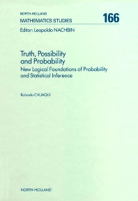 Truth, Possibility and Probability, 1st Edition,R. Chuaqui,ISBN9780444888402
