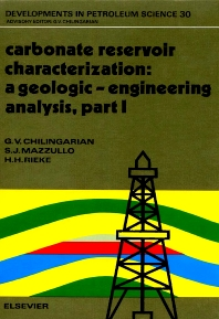 Cover image for Carbonate Reservoir Characterization: A Geologic-Engineering Analysis, Part I