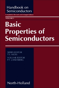 Basic Properties of Semiconductors - 1st Edition - ISBN: 9780444888556, 9781483291109