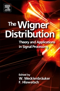 Cover image for The Wigner Distribution