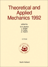 Theoretical and Applied Mechanics 1992 - 1st Edition - ISBN: 9780444888891, 9780444600233