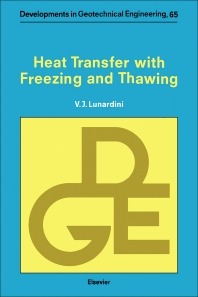 Cover image for Heat Transfer with Freezing and Thawing