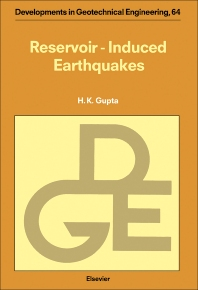 Reservoir Induced Earthquakes - 1st Edition - ISBN: 9780444889065, 9780444597359