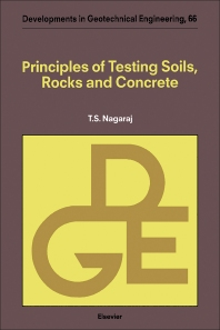 Cover image for Principles of Testing Soils, Rocks and Concrete