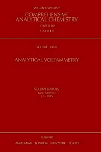 Analytical Voltammetry, 1st Edition,M.R. Smyth,J.G. Vos,ISBN9780444889386