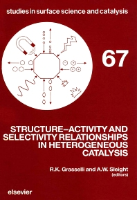 Cover image for Structure-Activity and Selectivity Relationships in Heterogeneous Catalysis