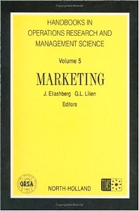 Marketing, 1st Edition,J. Eliashberg,G.L. Lilien,ISBN9780444889577