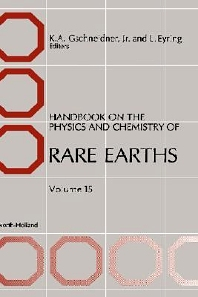 Handbook on the Physics and Chemistry of Rare Earths, 1st Edition,Karl A. Gschneidner,L. Eyring,ISBN9780444889669