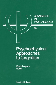 Cover image for Psychophysical Approaches to Cognition